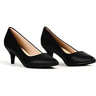 Giày cao gót nhọn 5cm da mờ siêu êm V015068 thumbnail