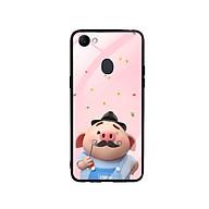 Ốp Lưng Kính Cường Lực cho điện thoại Oppo F7 - Pig Cute 08 thumbnail