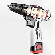 Máy khoan pin, khoan điện - Máy khoan đa năng đục xoáy vít công nghệ Đức nanwei 42V thumbnail