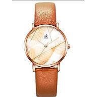 Đồng hồ nữ chính hãng Shengke Korea K0108L-02 Nâu thumbnail