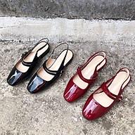 Sandal 2 quai mũi vuông thumbnail