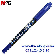 Bút dạ kính 2 đầu M&G - APM21372 mực xanh thumbnail