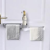 Gía treo khăn và dụng cụ phòng tắm dán tường ( Mầu Ngẫu Nhiên ) thumbnail