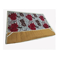 Thảm trải giường lông nỉ nhung kích thước 1.9m x 1.8m, dùng cho mùa đông, thumbnail