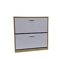 Tủ Giày Thông Minh 2 Tầng TH01 - Vàng Trắng thumbnail