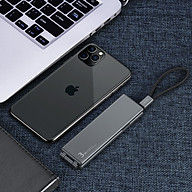 Hộp Dây Cáp Sạc Nhanh 3 Đầu OATSBASF 3 In 1 Type C Micro USB Lightning - Hàng Chính Hãng thumbnail