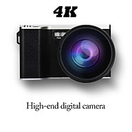 Digital Video Camera 4 Inch Hd Touch Screen Support 32gb Sd Card Camera Wifi Wide-angle Lens thumbnail