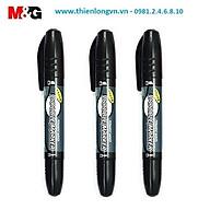 Combo 3 bút lông dầu 2 đầu M&G - 2110 màu đen thumbnail