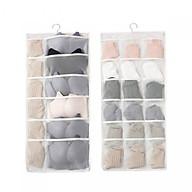 Túi đựng đồ lót nhiều ngăn có móc treo thumbnail