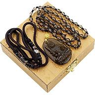 Dây Chuyền Phật Bất Động Minh Vương Obsidian thumbnail