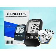 Máy Đo Đường Huyết GluNEO Lite - Tặng 25 que thử đường huyết và 25 kim chích máu thumbnail