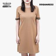 DSQUARED2 - Đầm mini ngắn tay dáng suông S72CU0374-111 thumbnail