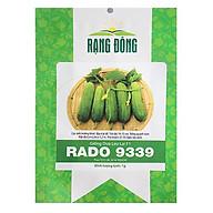 Hạt giống dưa leo lai F1 Rạng Đông RADO 9339 1g (Xanh) thumbnail