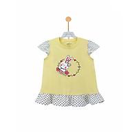 Áo thun bé gái hình thỏ dễ thương bèo gấu và bèo tay Ardilla K88GSS20 thumbnail