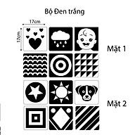 Bộ thẻ Flashcard thẻ kích thích thị giác theo phương pháp Montessori Cho Bé Từ 0-36 Tháng Tuổi Sơ Sinh thumbnail