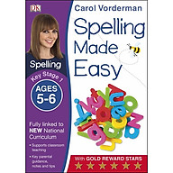 Carol Vorderman Spelling Made Easy Ages 5-6 Key Stage 1 thumbnail
