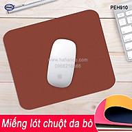 Miếng lót chuột gaming, pad bằng da bò xịn (PEH910) chống nước, trơn trượt siêu bền - Mouse Pads Leather of HAHANCO thumbnail