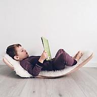 Ván thăng bằng, ván bập bênh Montessori, Steiner, Reggio joy board thumbnail
