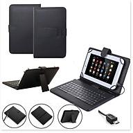 Bao da bàn phím kèm chuột có dây sử dụng cho điện thoại, ipad, máy tính bảng thumbnail