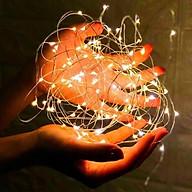 Dây đèn led đom đóm - đèn fairy light Chuyên dùng trang trí decor, trang trí lẵng hoa, hộp quà tặng, giỏ hoa, vòng hoa đội đầu, cây thông Noel đèn fairylight dùng kết hợp với chụp ảnh sản phẩm, cho vào trong chai lọ, trang trí bàn tiệc decor, thậm trí tạo hình quấn quanh người - Thương hiệu KIOTOOL thumbnail