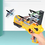 Đồ chơi bắn phóng máy bay giấy lên trời thumbnail