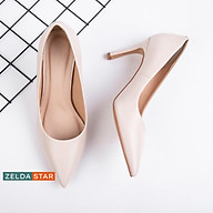 Giày bít nhọn Zelda Star basic gót cao 9cm - BN0251020 thumbnail