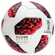 Bóng đá World Cup TELSTAR 2018 số 5- tặng kim bơm bóng + lưới đựng bóng ( đỏ,đen) thumbnail
