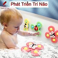Bộ 3 Chong Chóng Gắn Tường Hít Chân Không Vui Chơi Quà Tặng Cho Bé Phát Triển Trí Não thumbnail