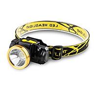 Đèn pin đội đầu cảm biến thông minh mắt Led siêu sáng (pin li-ion + sạc) thumbnail
