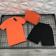 Set Đồ Thể Thao Nam Gồm Áo Cotton Thấm Mồ Hôi Và Quần Vải Dù NK1 Đi Tập Đi Chơi Cực Chất thumbnail