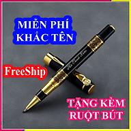 Bút ký cao cấp LC 007, đen Hoàng gia, mực đều, mịn, mượt ở mọi góc nghiêng cầm bút thumbnail