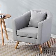 Ghế sofa nỉ cao cấp - Ghế sofa phòng khách (kt 76x48x53cm) thumbnail