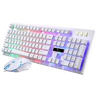 Bộ bàn phím và chuột G20 chuyên Game Led 7 màu (Màu Trắng) thumbnail