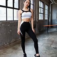 Bộ Quần Áo Tập Yoga Gym Nữ Cao Cấp, Form Chuẩn Tôn Dáng, Áo Bratop Có Mút - LUX73 thumbnail