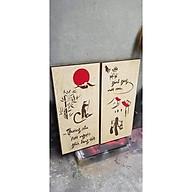 Tranh gỗ Cha Mẹ trang trí nhà cửa quà tặng ý nghĩa. thumbnail