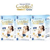 Combo 3 Hộp Sữa Non Tổ Yến Goldilac Grow thumbnail