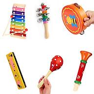 Combo 6 món nhạc cũ bằng gỗ rèn luyện đôi tai cho bé yêu thumbnail