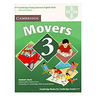 Cambridge Young Learner English Test Movers 3 Student Book thumbnail