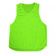 Áo Lưới Tập Bóng Đá - Tập Gym - Yoga (10 chiếc áo màu xanh chuối) thumbnail