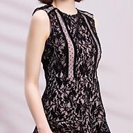 Đầm Ren Nhung Dáng Xoè Dmax FD016 thumbnail