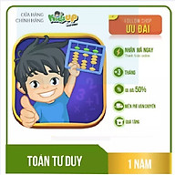 KidsUP Soroban - Học toán tư duy kiểu Nhật (GÓI 1 NĂM (Tặng 3 tháng) & TRỌN ĐỜI) - Hàng chính hãng thumbnail