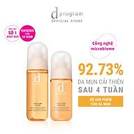 Bộ Sản Phẩm Cho Da Mụn Nhạy Cảm d program Acne Care (Nước Cân Bằng 125ml + Sữa Dưỡng 100ml) thumbnail