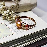 Nhẫn đá phong thuỷ đồng nguyên chất N5 03870-03875 thumbnail