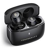 Tai nghe True Wireless Taotronics TT BH097 Smart Touch , chống ồn, thời gian lên đến 29 giờ sử dụng - Đen - Hàng chính hãng thumbnail