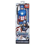 Đồ chơi AVENGERS Mô hình siêu anh hùng Captain America 30cm oai hùng E7877 thumbnail
