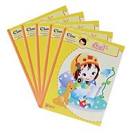 Lốc 5 Quyển Tập 96 Trang 4 Oly Vuông Đl Uyên Loan 100gr Hồng Hà thumbnail