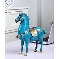 Ngựa xanh phú quý - Decor để bàn thumbnail