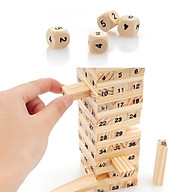 Bộ đồ chơi rút gỗ - Bộ đồ chơi trí tuệ gỗ 54 thanh siêu đẹp thumbnail