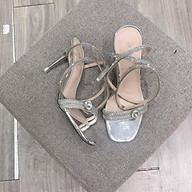 Sandal dây viền đá cuốn cổ chân quai trước đính hạt đá - 7P thumbnail