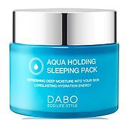 Mặt nạ ngủ cấp nước trị xạm da Cao cấp Hàn quốc Dabo Aqua Holding Sleeping Pack Hàn Quốc ( 80ml) - HÀNG CHÍNH HÃNG thumbnail